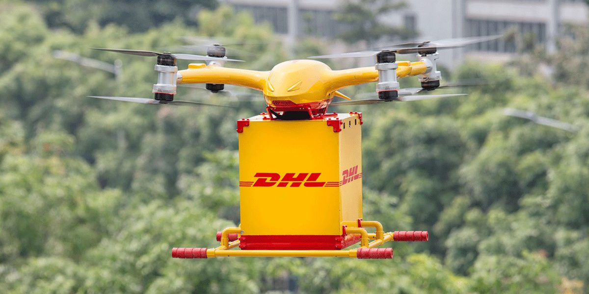 DHL STARTS WITH DRONE DELIVERY IN CHINA