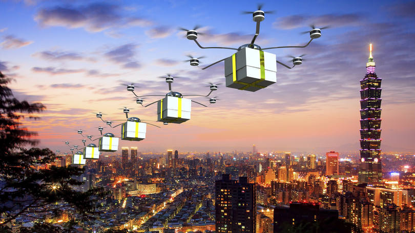 GOOGLE IS THE FIRST TO DELIVER BY DRONE IN THE UNITED STATES