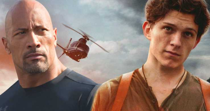 Tom Holland y The Rock quieren formar equipo, ¿podría suceder en Uncharted?